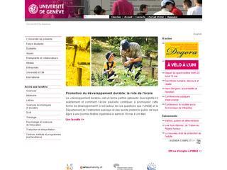 thumb Université de Genève