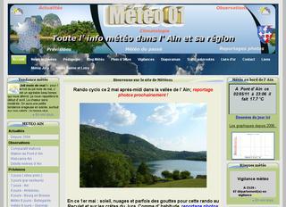 thumb La météo de l'Ain, de sa région et du Jura