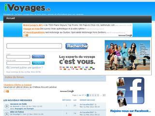thumb iVoyages.ch - forum romand pour les vacances