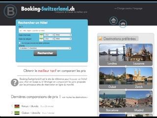 thumb Booking-Switzerland.ch - Comparaison et réservation d'hôtels
