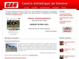 thumb CAG - Centre Athlétique Genève