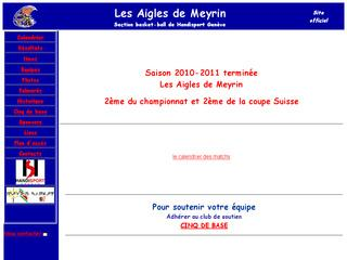 thumb Les Aigles de Meyrin