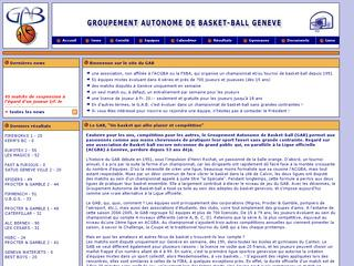 thumb GAB - Groupement Autonome de Basket