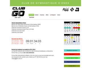 thumb Club de Gymnastique d'Onex - Club GO