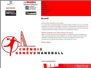 thumb CS Chênois Handball Club